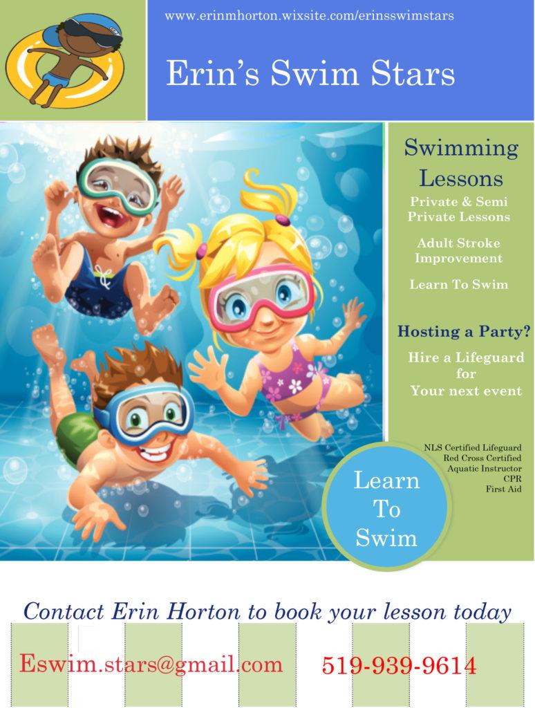 orangeville swim lessons private swimming lessons
