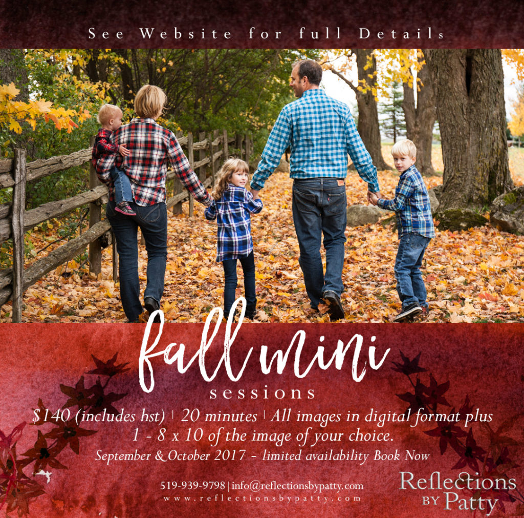 Orangeville family photo sessions
