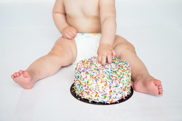 orangeville cake smash photographer